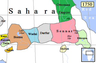 Wadai Empire former country
