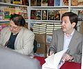 Cesar Vidal y Federico Jimenez Losantos firmando en la Feria del Libro de Madrid de 2007.jpg