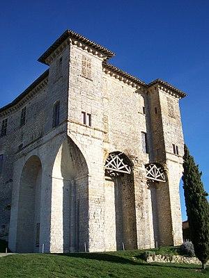 Lavardens - The chateau