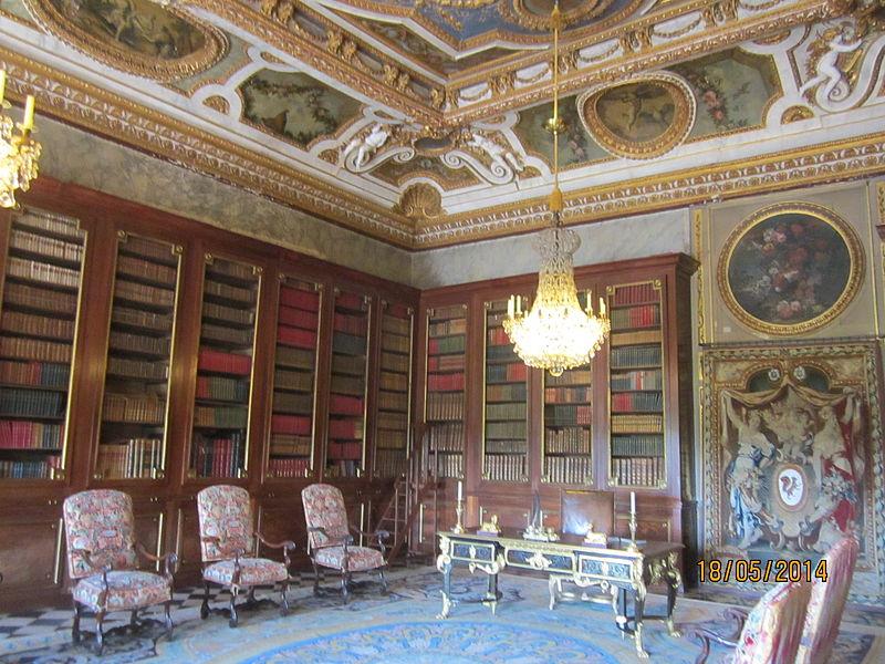 Château de Vaux-le-Vicomte bibliotheque 2.JPG