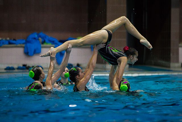 Championship of the North-West Federal District in synchronized swimming (2016-10-20) 06.jpg
