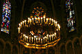 Chandelier - Basilica of the Immaculate Conception - Lourdes 2014 (1).jpg