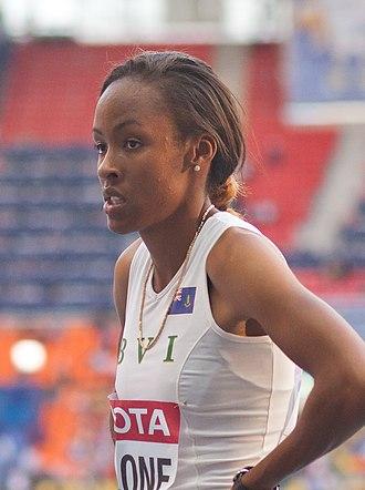 Chantel Malone - Image: Chantel Malone (2013 World Championships in Athletics) (cropped)