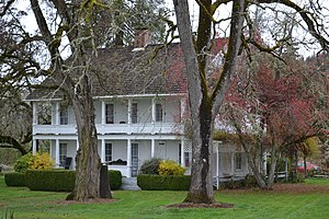 National Register of Historic Places listings in Douglas County, Oregon - Image: Charles Applegate House (Yoncalla, Oregon)
