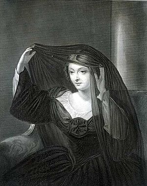 Olivia (Twelfth Night) - Olivia in mourning