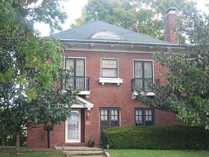 National Register of Historic Places listings in Marion County, Illinois - Image: Charles and Naomi Bachmann House