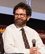 Photo of Charlie Kaufman at Fantastic Fest in 2015.