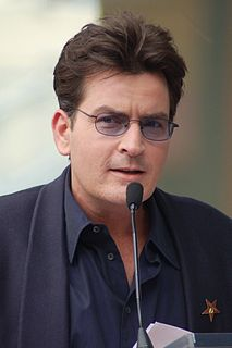 Charlie Sheen American film and television actor