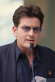 Wikipedia: Charlie Sheen at Wikipedia: 220px-Charlie_Sheen_March_2009
