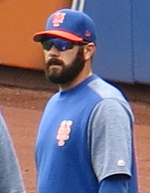Chasen Bradford - Bradford with the Mets in 2017
