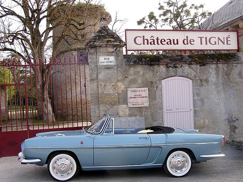 Chateau de Tigne, ressidence of Gerard Depardieu