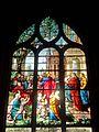 Chaumont-en-Vexin (60), église Saint-Jean-Baptiste, verrière n° 8 - Jésus bénissant les enfants.JPG