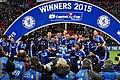 Chelsea 2 Spurs 0 - Capital One Cup winners 2015 (16506408458).jpg