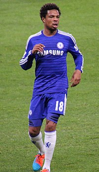 Chelsea 2 West Brom 0 The Blues go marching on (15672771328).jpg