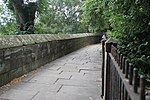 Chester City Wall between the Watergate to Bonewaldesthorne Tower.JPG