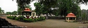 Shirur, Maharashtra - Sambhaji's and Kavi Kalash's Samadhi(Mausoleum) at Vadhu