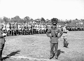 Fifth Encirclement Campaign against Jiangxi Soviet - Image: Chiang Kai shek in 1933