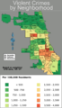 Chicago weighted crime map 05-07.png