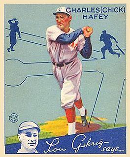 Chick Hafey American baseball player