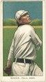 Chief Bender, Philadelphia Athletics, baseball card portrait LCCN2008676832.tif