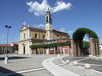 Cavenago di Brianza - Image: Chiesa Cavenago