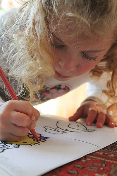 File:Child painting.JPG
