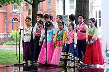 46a8adff4 Children in Washington DC wearing hanbok