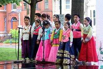 Hanbok - Children wearing hanbok