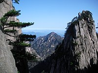 China Anhui Huang Shan scenic view 12.JPG