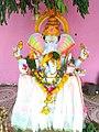 Chinalingala vinayaka chavithi 2017 kothuru Ramalayam, SSRBSK mandapam lo Ganesh.jpg