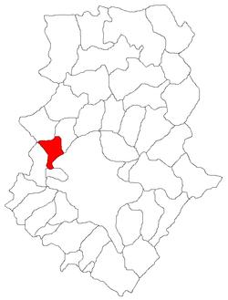 Vị trí của Chitila