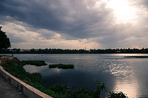 Kanchipuram district - Waters of Chitlapakkam Lake Chennai limit