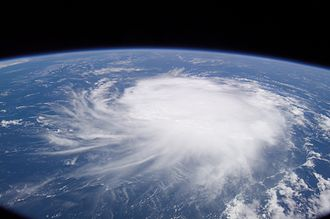 Tropical Storm Chris (2006) - Chris as seen from the International Space Station on August 2