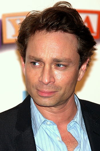 Chris Kattan at the premiere of Baby Mama in N...
