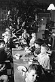 Christmas dinner for children in a home for evacuees at Henley-on-Thames, Oxfordshire, 1941. D5703.jpg