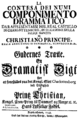 Christoph Willibald Gluck - La contesa dei numi - titlepage of the libretto - Kopenhagen 1749.png