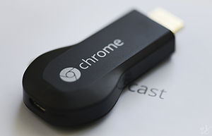 Chromecast - The first-generation video-capable Chromecast