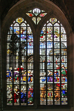 Oude Kerk, Amsterdam - Church Window, Oude Kerk