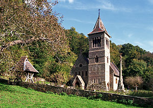 Welsh Bicknor - Image: Church at Welsh Bicknor