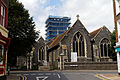 Church of St Peters from the east Broadstairs St Peters Kent England.jpg