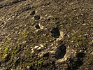 Fossilised human footprints at Ciampate del Diavolo