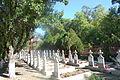 Cimitir in curtea manastirii Timiseni, Sag, Timis.jpg