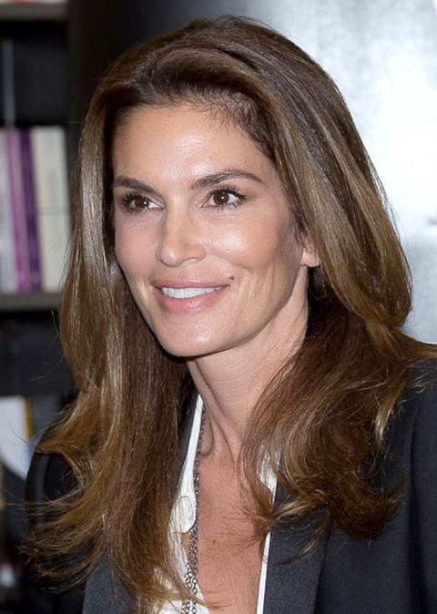 Cindy Crawford in London