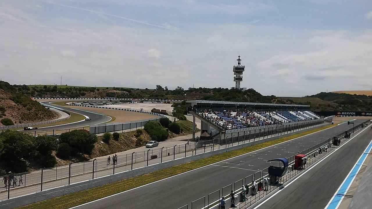 Circuito De Jerez : El circuito de jerez usará una mezcla nueva en su asfalto para