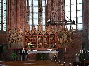 Cismar Abbey - Cismar Abbey: the altar