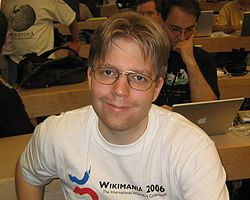 caption=Erik at Wikimania