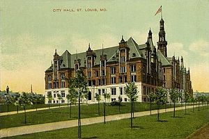 Harvey Ellis - St. Louis City Hall, built in 1904