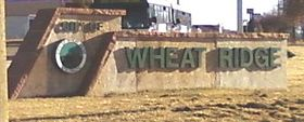 خط الأفق لـ Wheat Ridge