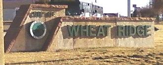 Wheat Ridge, Colorado - Image: Cityof Wheat Ridgesign
