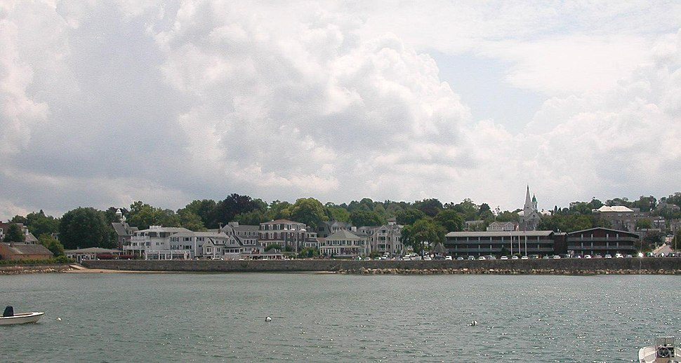 Cityscape of Plymouth, MA